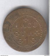 1 Macuta Angola 1814 TB - Angola