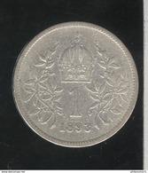 1 Couronne Autriche / Austria 1893 - TTB - Autriche