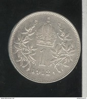 1 Couronne Autriche / Austria 1912 - TTB+ - Austria