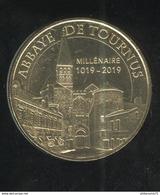 Jeton Touristique Abbaye De Tournus - Millénaire 1019-2019 - MDP 2018 - 2018