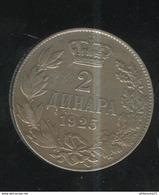 2 Dinars Royame De Serbie , Des Croates Et Des Slovènes 1925 - TTB+ - Serbie