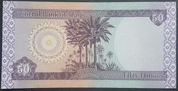 E11kb Banknote - Iraq 50 Dinars 2003 P-90 UNC - Iraq