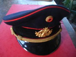 Casquette Allemande Pompier - Headpieces, Headdresses