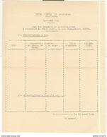 Formulaire Lutte Contre Le Doryphore - Campagne 1944 - Etat Des Demandes De Pulvérisateurs - Dokumente