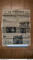 Journal Le Progrès - Lundi 4 Avril 1955 - Edition Saône Et Loire - Journaux - Quotidiens