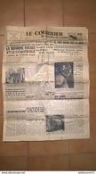 Journal Le Courrier De Saône Et Loire - Mardi 29 Mars 1955 - 1950 - Nu
