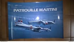Photo Grand Format - 2 Pilatus Patrouille Martini - 48 X 32,5 Cm - Etat Neuf - Alcools