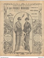 Catalogue Grands Magasins De Nouveautés -  A La France Moderne Eté 1914 - Chalon Sur Saône - Autres