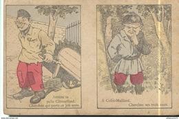 CPA Illustrée Publicitaire - Au Grand Bon Marché à Lyon- Cherchez Citrouillard - Cherchez Mes Trois Amis - Non Circulée - Guerre 1914-18