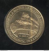Jeton Touristique La Roche De Solutré - Musée De La Préhistoire - Monnaie De Paris - 2013 ( Lot 1 ) - Monnaie De Paris