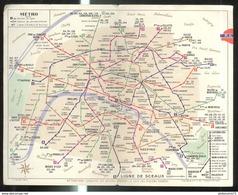 Dépliant Ancien RATP - Paris Et Sa Banlieue Par Les Autobus Et Le Métro - Europe