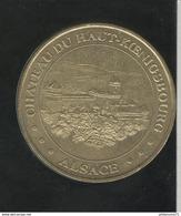 Jeton Touristique Chateau Du Haut Koenigsbourg - Alsace - Monnaie De Paris - 2001 ( Lot 2 ) - Monnaie De Paris