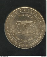 Jeton Touristique Ile D'Oléron - Fort Boyard - Monnaie De Paris - 2001 - Monnaie De Paris