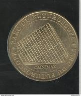 Jeton Touristique Futuroscope - Omnimax - 2007 - Monnaie De Paris