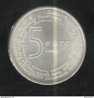 5 Euros Pay-Bas Argent 2004 - Élargissement De L'Union Européenne De 2004 - SUP - Pays-Bas