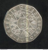 5 Euros Autriche Argent 2005 - Centenaire Du Ski - SUP - Austria