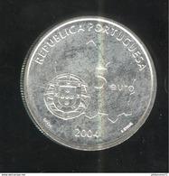 5 Euros Portugal Argent 2004 - Le Centre Historique D'Évora - SUP - Portugal