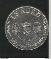 1,5 Euro De Saint Gengoux Le National - Salornay - Cormatin - 1996 - Euros Of The Cities