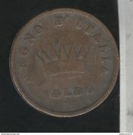 1 Soldo Italie 1812 M TB+ - Temporary Coins