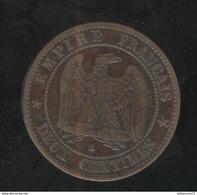 2 Centimes France 1855 B - TTB+ - France