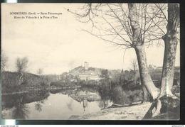 CPA Sommières Rives Du Vidourle à La Prise D'Eau - Circulée 1912 - Sommières