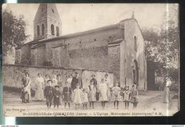 CPA St Georges De Commiers - L'Eglise - Circulée - Other Municipalities