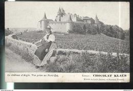 CPA Suisse - Le Chateau D'Aigle - Publicitaire Chocolat Klaus - VD Waadt