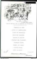 Menu Saumur - Repas Amical De La Fanfare De Simandre - 11 Décembre 1977 - Menus