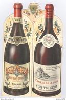 Menu Morin - Clos Vougeot - Repas Des Conscrits - 6 Décembre 1980 - Menus