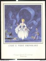 Menu Paquebot France - Congrès De Printemps De La F.N.T.R. - 23 Avril 1972 - Menus