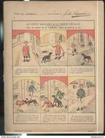 Cahier D'écolier - Le Petit Georges & Le Chien Enragé - Utilisé En 1901 - Old Paper