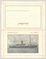 Nederland - Lloyd-Brief Van Het S.S. INSULINDE - Rotterdamsche Lloyd - Ongebruikt - Passagiersschepen