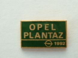 PIN'S OPEL - PLANTAZ 1992 - Opel
