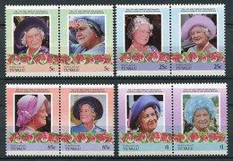 Nukulaelae - Tuvalu ** Série - 85 Ans De La Reine-mere Elizabeth - Tuvalu