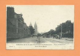CPA  Abîmée - Collection De La Cie Des Tramways De  Bonsecours  - Route De Bonsecours - Ecole Marcel Buquet - Bonsecours
