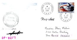 TAAF. N°89 De 1980 Sur Enveloppe Ayant Circulé En 1981. Léopard De Mer. - Antarctic Wildlife