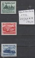 TIMBRES D ALLEMAGNE NEUF** 1939 Nr 695/97** COTE 280 € - Ungebraucht