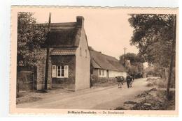 St-Maria-Hoorebeke  De Broekstraat - Horebeke