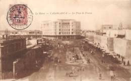Maroc - Casablanca / Belle Oblitération - 89 - La Place De France - Casablanca