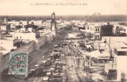 Maroc - Casablanca / Belle Oblitération - 92 - La Place De France - Casablanca