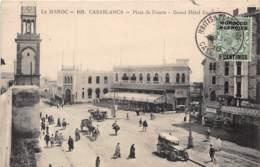 Maroc - Casablanca / Belle Oblitération - 106 - Place De France - Casablanca