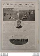 1908 FINALE CHAMPIONNAT DE RUGBY - RAID NEW YORK - PARIS - MEETING MONACO - OXFORD CAMBRIDGE - CHEVAL D´ARMES - Livres, BD, Revues