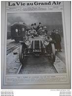 1908 - 74000 KILOMETRE EN AUTOMOBILE - GARE DE VANCOUVER - CHAS J. GLIDDEN EN AUTOMOBILE SUR UNE VOIE FERRÉE - Livres, BD, Revues