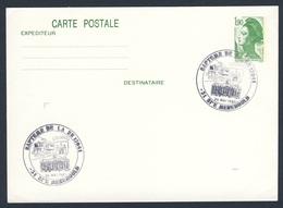 France Rep. Française 1987 Card / Karte / Carte - Bapteme Loc. BB 15041, Ste. Menehould / Tauf Lokomotive - Treinen