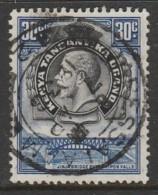 Kenya 1935 King George V And Landscapes 30 C Blu/black SW 6 O Used - Kenya, Uganda & Tanganyika