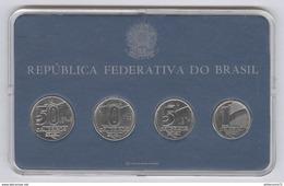 BU 1, 5, 10, 20 Cruzeiros Brésil 1990-1991 - Brésil
