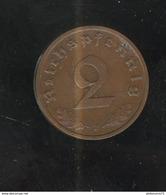 2 Reichspfennig Allemagne 1938 F SUP - [ 4] 1933-1945 : Third Reich