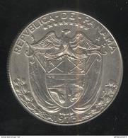 1 Medio Balboa Panama 1973 TTB+ - Panama