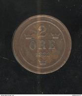 2 Ore Suède 1882 - Suède