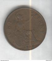 1 Penny Angleterre 1935 Georges V SUP - 1662-1816 : Acuñaciones Antiguas Fin XVII° - Inicio XIX° S.